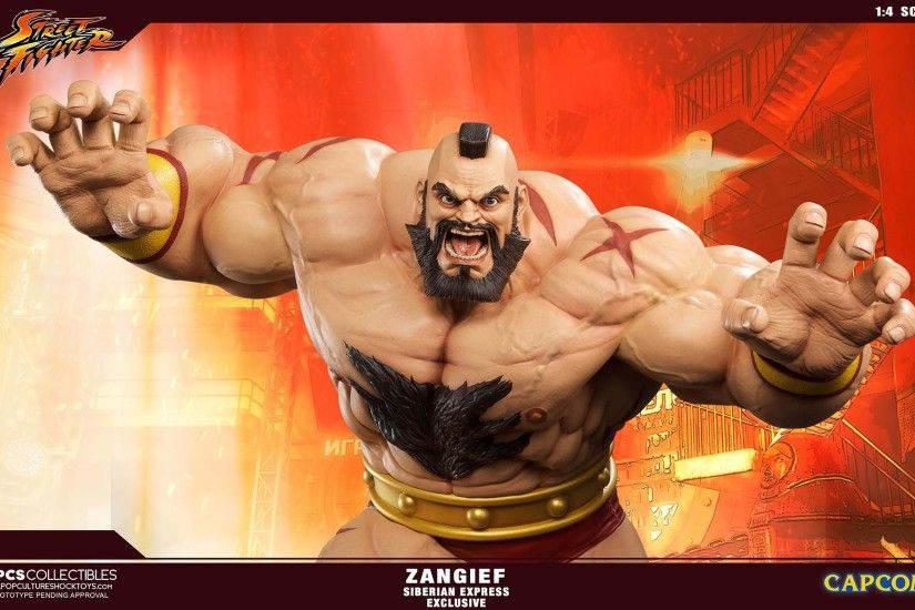 PCS Street Fighter Zangief Statue Siberian 002
