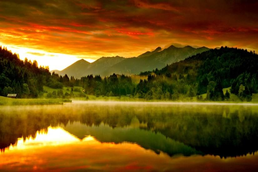 Lake Sunset Wallpaper : Get Free top quality Lake Sunset Wallpaper for your  desktop PC background