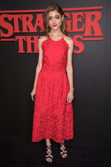 Natalia Dyer: Stranger Things LA Premiere