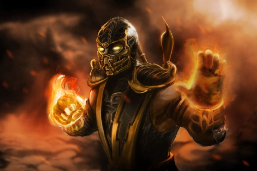 Scorpion Mortal Kombat Wallpaper