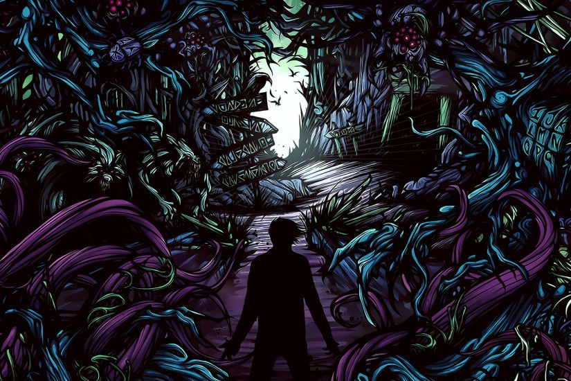 General 1920x1080 music A Day to Remember hardcore album covers cover art  digital art plants ADTR