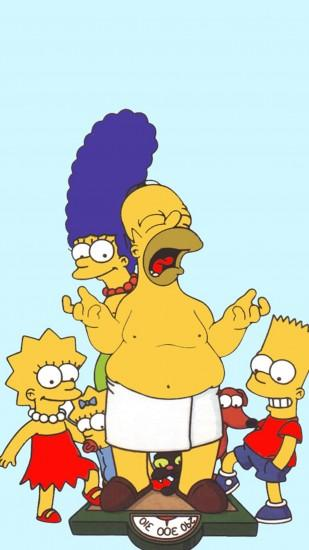 The Simpsons Sony Xperia Z2 Wallpapers