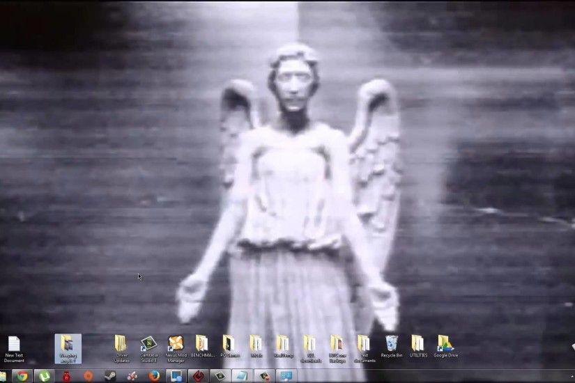 16> Images For - Doctor Who Weeping Angels Video Wallpaper .