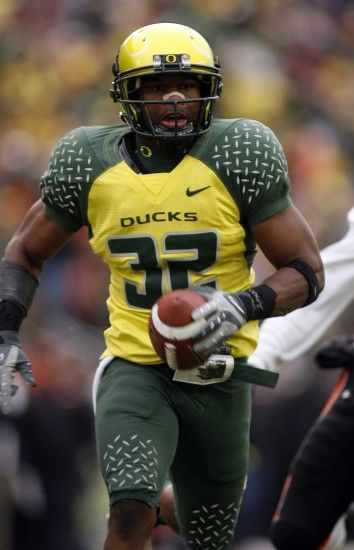 Former University of Oregon cornerback Jairus Byrd. #GoDucks (Photo by Eric  Evans)