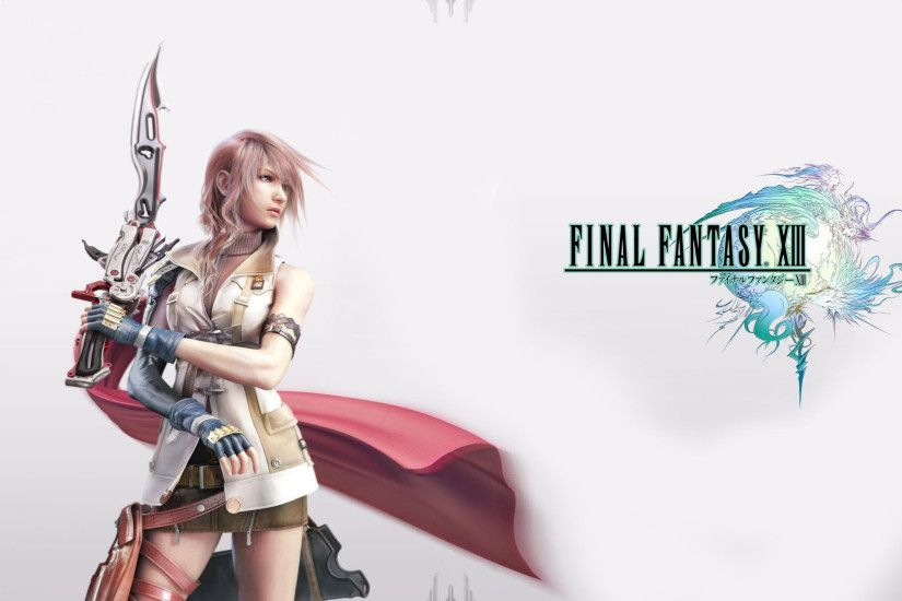 ... Final Fantasy 13 Wallpapers HD - Wallpaper Gallery ...