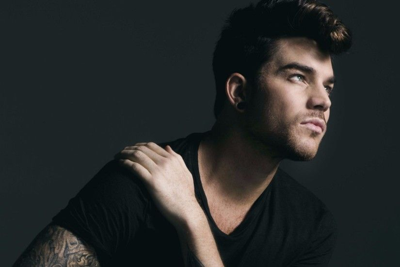 Stunning Adam Lambert 4K Wallpaper