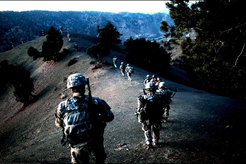 Army in Afghanistan HD wallpaper