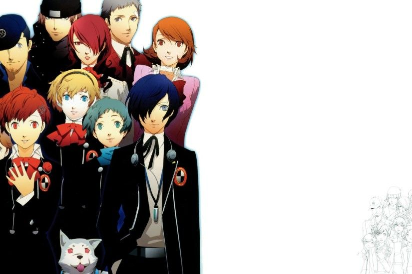 free download persona 3 fes wallpaper