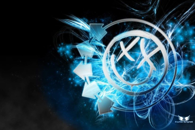 Blink Smiley Electric Blue By Twe K Wallpapers