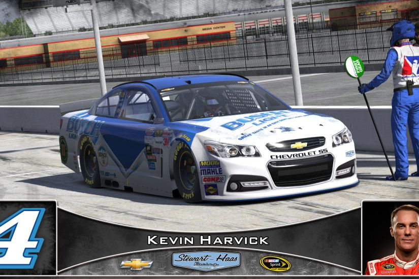 #4 Kevin Harvick Busch Light 2016. NASCAR Monster Energy Cup Chevrolet SS  by Udo Washeim