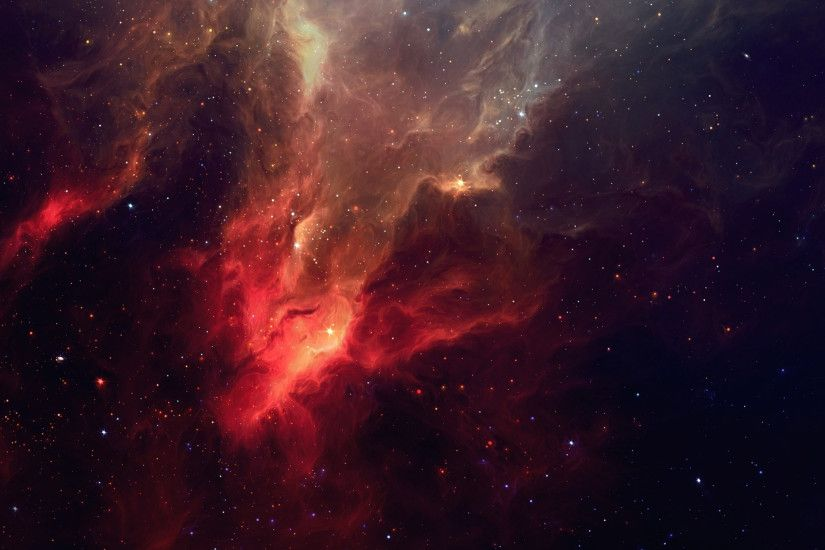 ... Download Red Space Wallpaper Gallery ...
