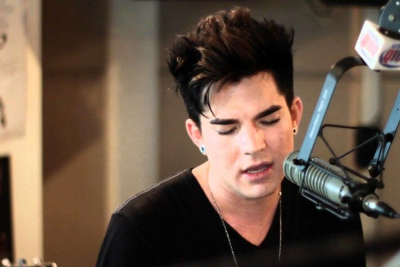 "Adam Lambert ""Better than I know myself"" live on The Bert Show - YouTube"