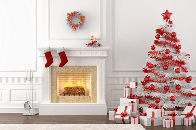 Wallpaper christmas white christmas