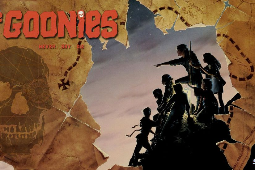 Here you go Mappy here's the Goonies wallpaper you asked for. I loved this  film when I was a kid, what am I saying I still do.