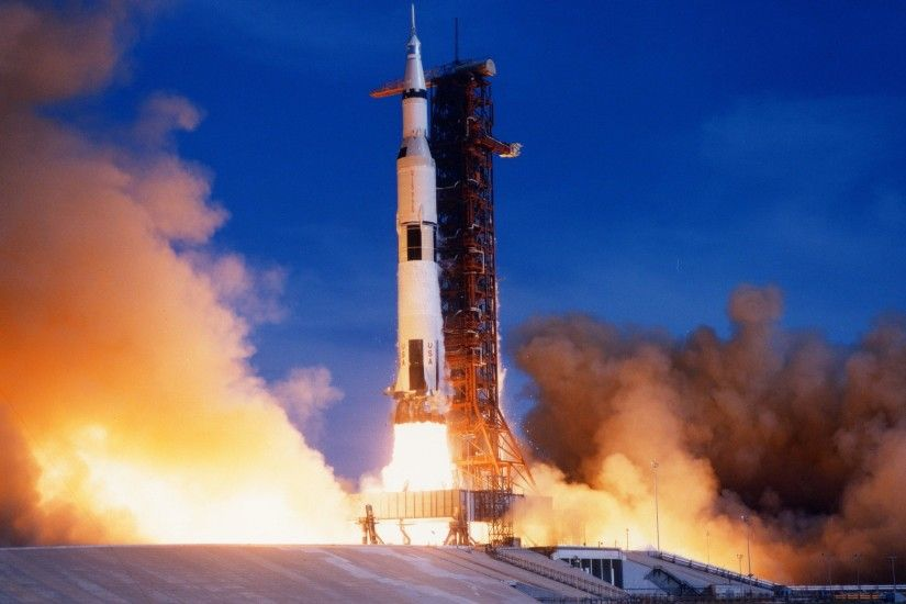 ... HD】Launch Apollo 8 Saturn V - Awesome!