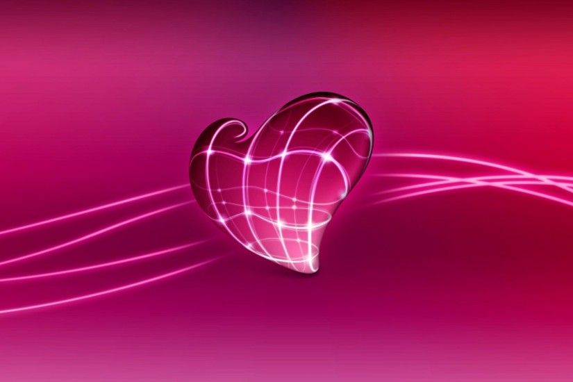 3d love heart wallpaper.