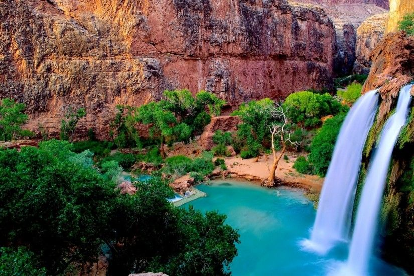 Soothing Waterfall Wallpaper - Most Beautiful Waterfall Wallpapers for Desktop  Background