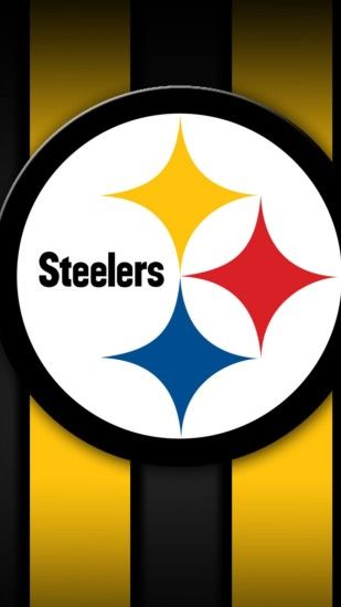 Preview wallpaper pittsburgh steelers, american football, logo 1440x2560