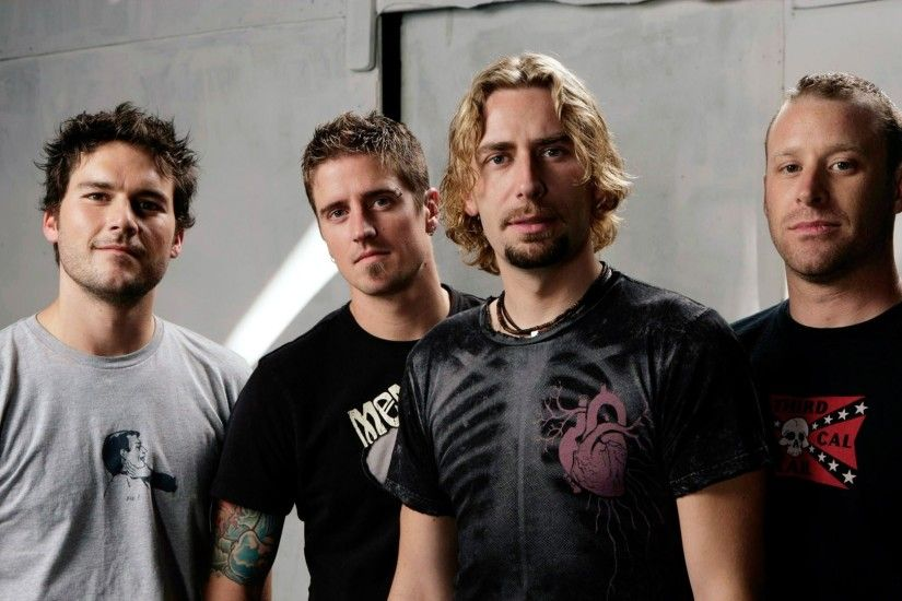 1920x1080 Wallpaper nickelback, band, members, t-shirts, room