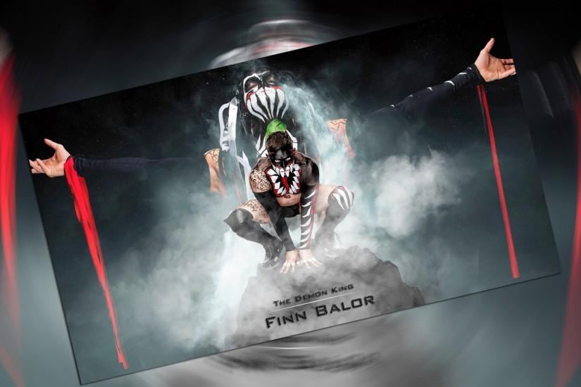 ... The Demon King 'Finn Balor' by RaazivYdv