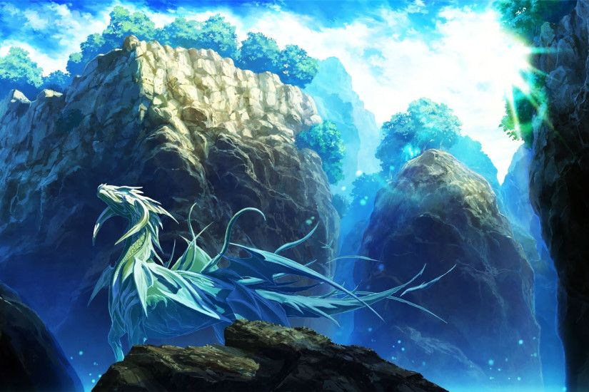 Ice dragon wallpaper - Fantasy wallpapers - #18598