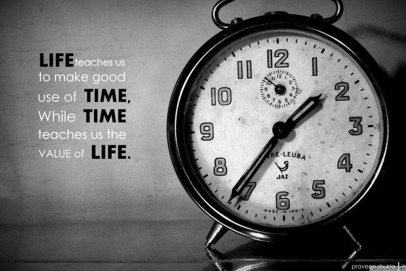 Time Quotes Wallpaper Hd wallpaper