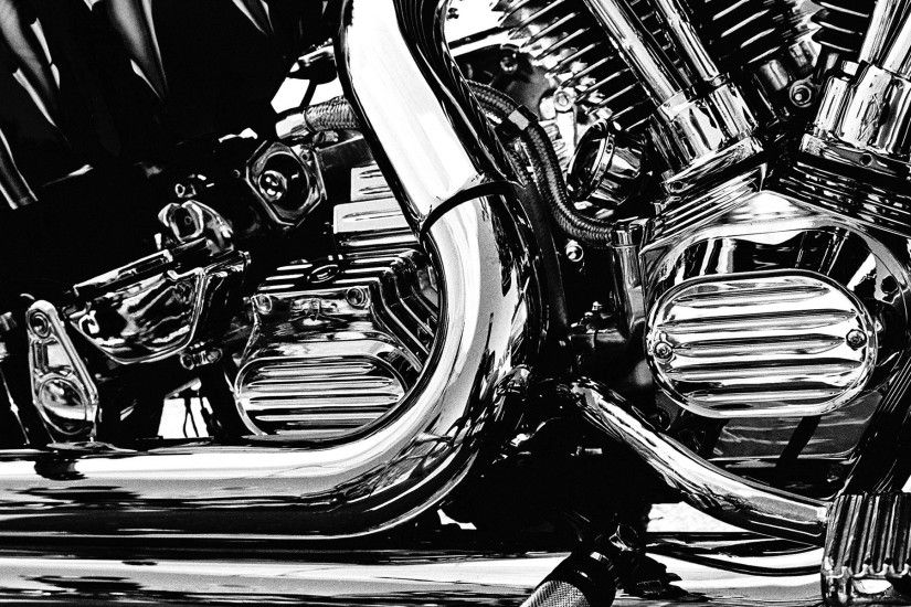 Man Made - Machine Gothic Black Engine Bobine Motor Motorcycle Tony Tony  Chopper Wallpaper