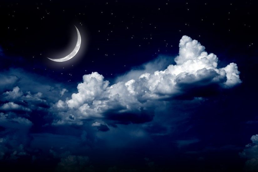 Night Sky Moon