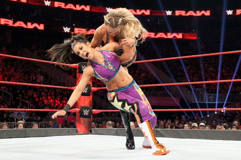 Bayley vs Charlotte Flair Raw Women s Championship Match Raw, Feb 2017