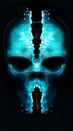skull wallpaper samsung galaxy s4