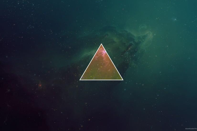Space Triangle for 1920x1080