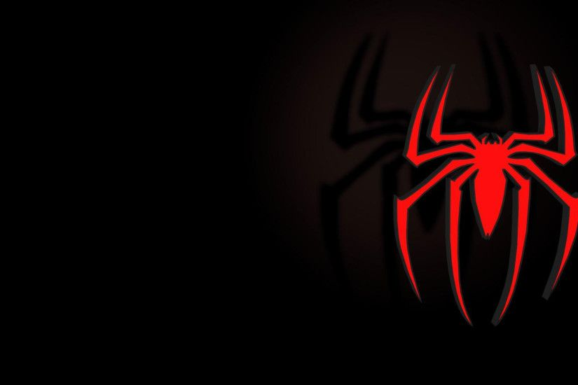 hd pics photos amazing spiderman logo spider red hollywood hd quality  desktop background wallpaper