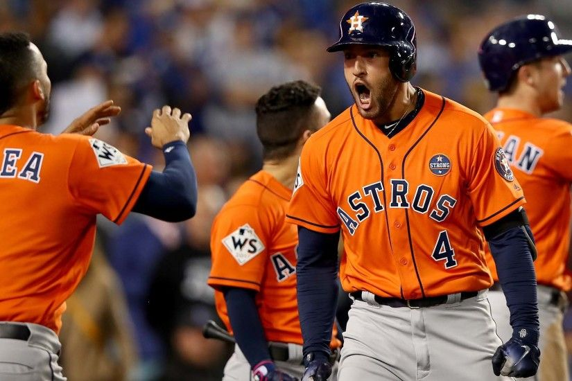 PHOTOS: Houston Astros win World Series in Game 7 over L.A. Dodgers