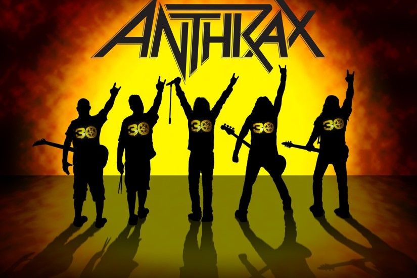 Anthrax heavy metal hard rock bands d wallpaper