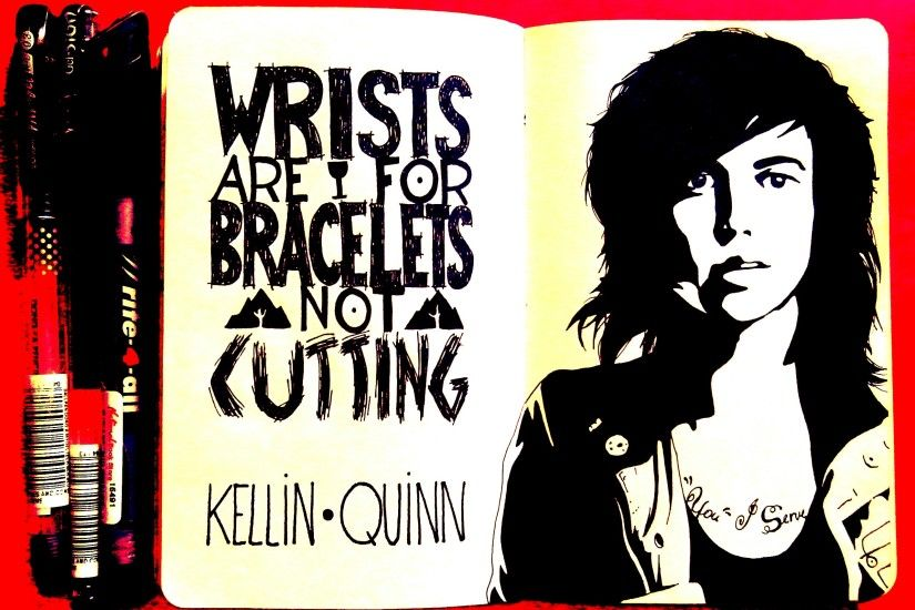Kellin Quinn by imtheredmist Kellin Quinn by imtheredmist