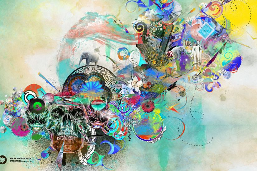 21 Download Colorful History Abstract Art Wallpaper 2560x1600 ... - HD  Wallpapers