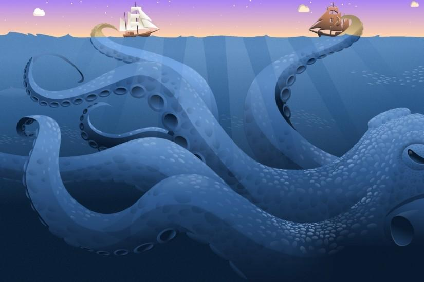 Octopus Art Wallpapers Images