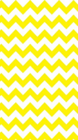 Yellow and White Chevron iPhone 6 Plus Wallpaper - Zigzag Pattern, #iPhone  #6