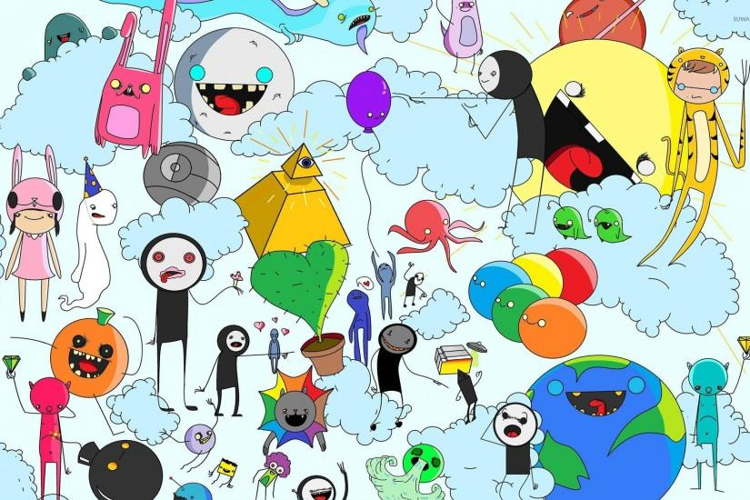 gorgerous adventure time wallpaper 1920x1200
