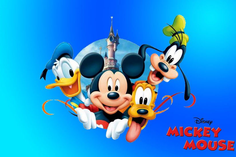 ... mickey mouse donald duck pluto and goofy new hd desktop wallpaper ...