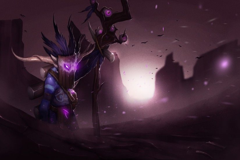 Dota2 : Witch Doctor Wallpapers Dota2 : Witch Doctor Wallpapers hd