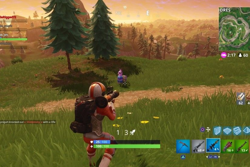 Fortnite Chug Jug Widescreen Desktop Wallpaper 756