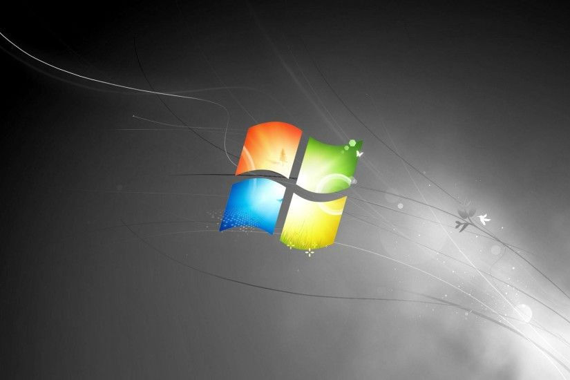 Desktop Wallpaper Black Screen Windows 7 | Black Wallpapers