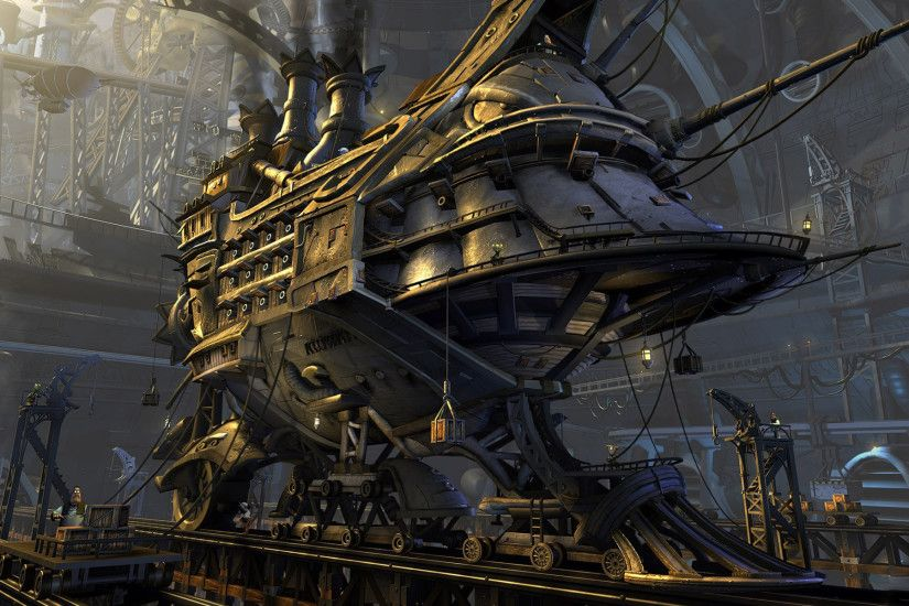 Fantastic Steampunk Wallpaper 1635