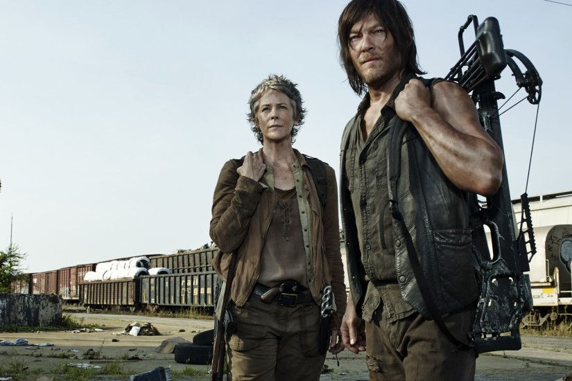 the-walking-dead-season-5-norman-reedus-melissa-
