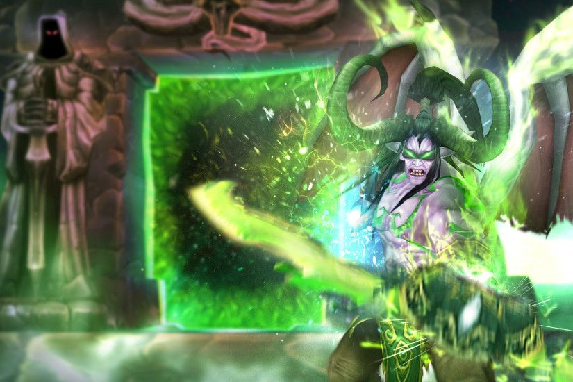 Illidan Stormrage Wallpaper by Kodokalv Illidan Stormrage Wallpaper by  Kodokalv