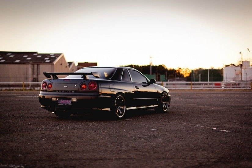 Nissan Skyline R34 Wallpaper Images & Pictures - Becuo