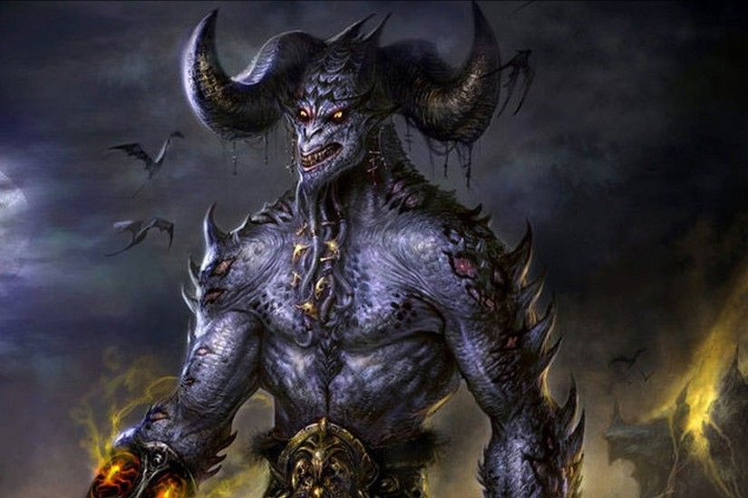 Hell HD Wallpapers Backgrounds Wallpaper × Dark Demon