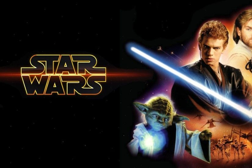 Movie - Star Wars Episode II: Attack Of The Clones Yoda Anakin Skywalker  Padmé Amidala