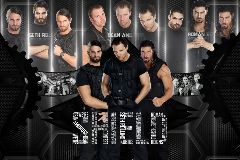 The Shield Wallpaper Wwe 2014 The shield hd wallpaper by